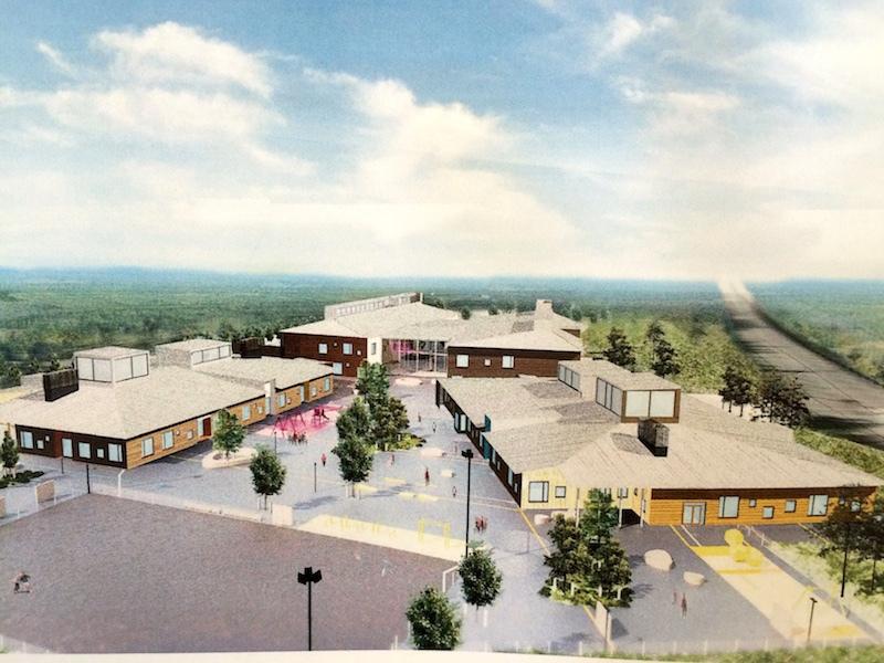 Actualit s construction d 39 une ecole visite chantier for Chantier architecte