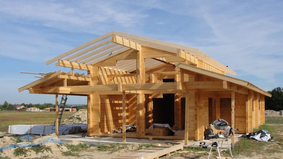 Construction bois montauban 82 kontio aquitaine midi pyr n es for Construction maison en bois hautes pyrenees