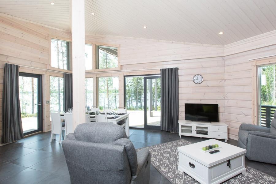 Construction bois saraniemi kontio aquitaine midi pyr n es for Interieur maison bois massif