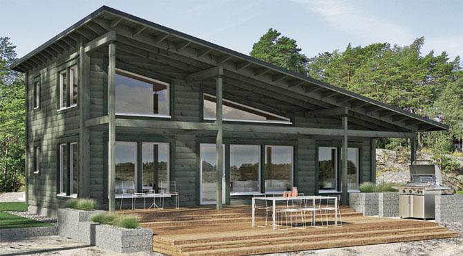 maison en bois kontio