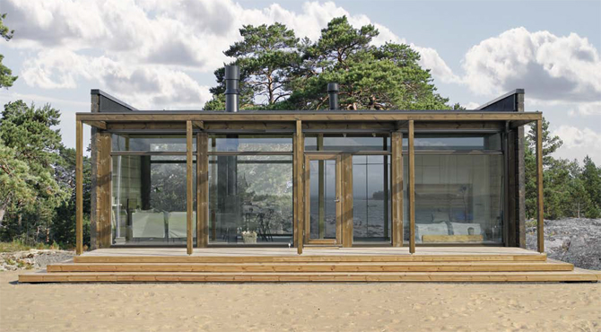 Plan maison : Glass House 70 photo 1
