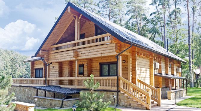 Mod les et plans de la maison bois pinus kontio Plan chalet bois