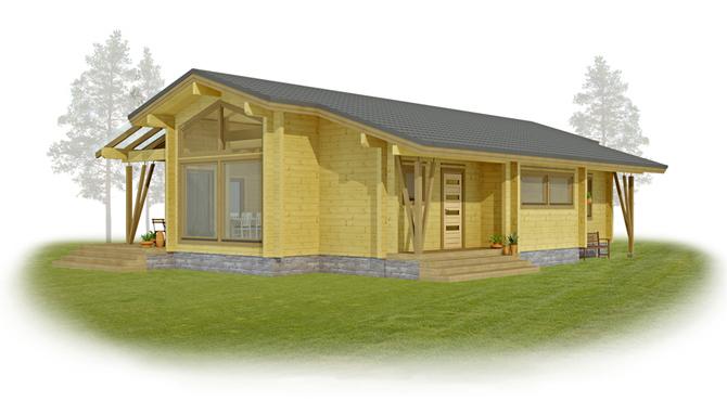 Modele maison bois logicobois de maisons ossature bois for Modele maison en bois